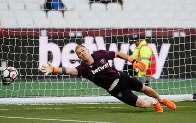 Joe Hart viene de jugar un puñado de partidos con el West Ham.