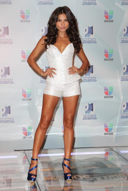Y qué me dicen de la conductora mexicana Alejandra Espinoza, también en...