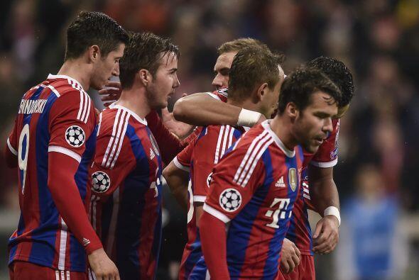 Sin ningún problema el Bayern Múnich venció 2-0 a u...