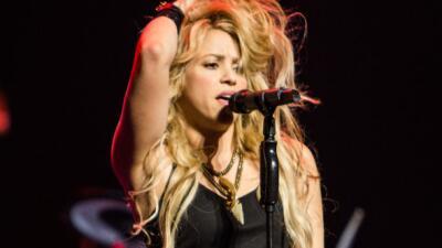 Shakira cerró con broche de oro la presentación de los fut...