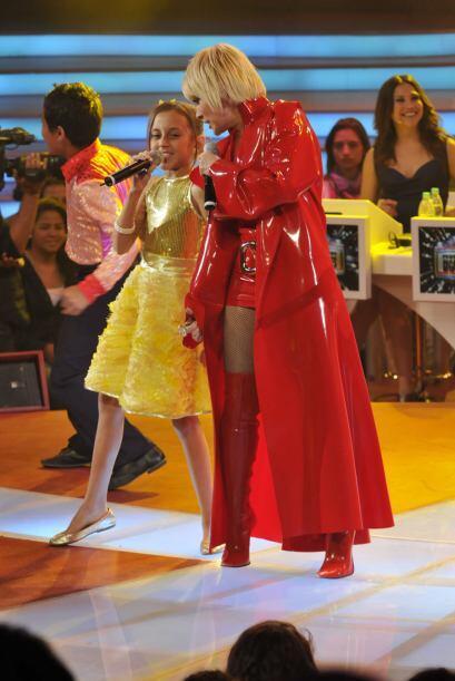 Yuri  y Joselyn hicieron un dueto gigante.