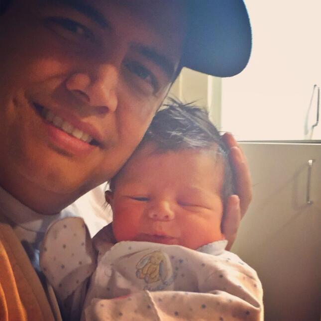 Orlando Segura y su Baby Joshua