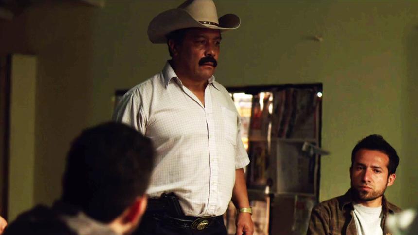 Arturo Bernal en El Chapo