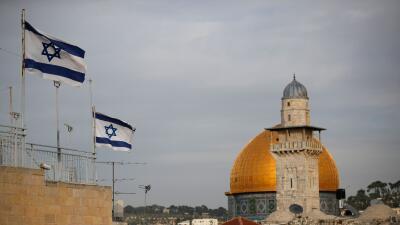 El Domo de la Roca, el lugar de Jerusalén donde los musulmanes creen que...