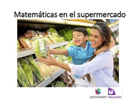 El supermercado es buen un lugar en donde los niños pueden descubir, apr...