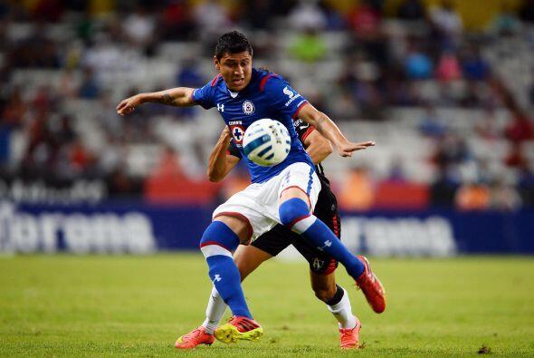 Julio César Domínguez, el zaguero de Cruz Azul ha tenido suerte con su l...