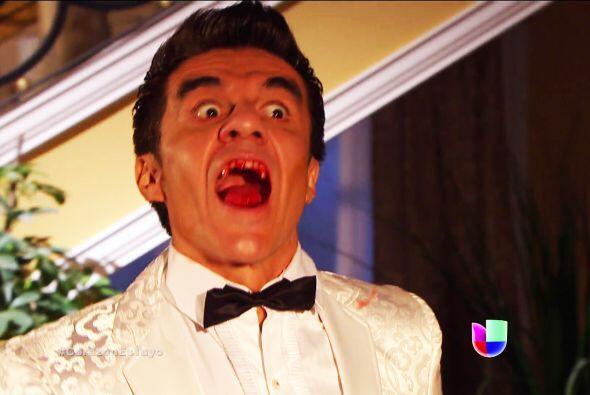 ¡Te lo dijimos! El Johnny se convirtió en el monstruo de gingivitis.