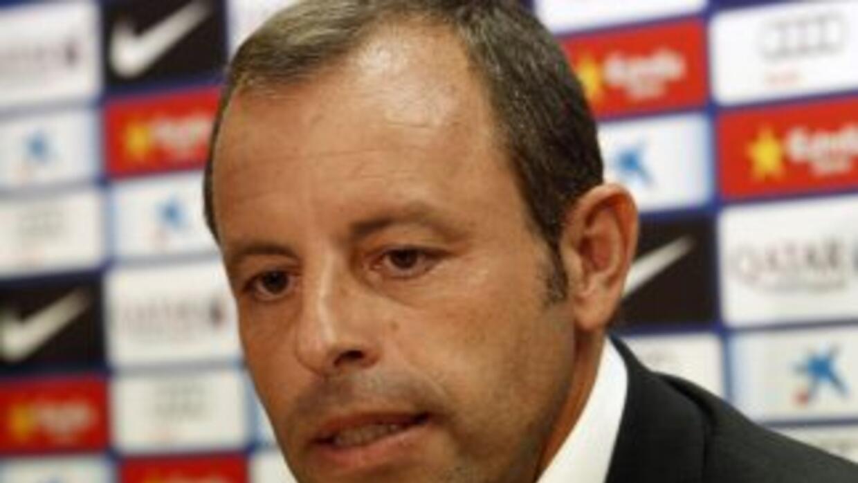 Sandro Rosell.