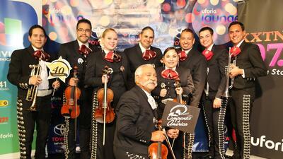 Mariachi Campanas de America celebrates 40th inside the Uforia Lounge