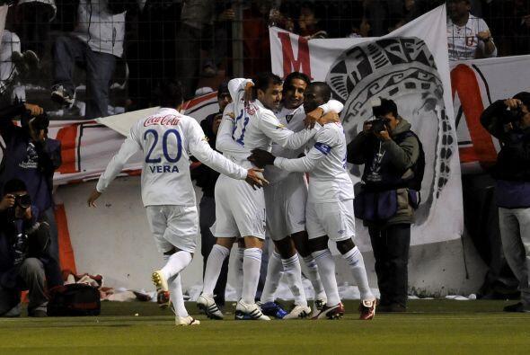 Liga le arrebató así el invicto a Independiente por el Grupo 8 de la Copa.