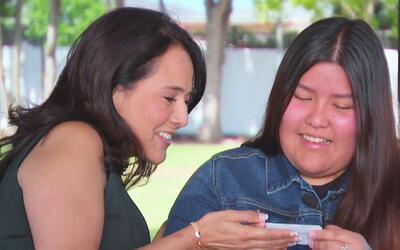 La abogada Jéssica Dominguez sorprendió a una familia de inmigrantes víc...