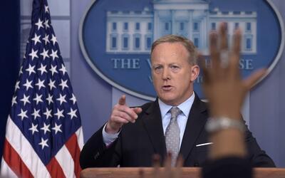 """Sean Spicer: Trump no se reunirá con Kim Jong Un """"en el futuro cercano"""""""