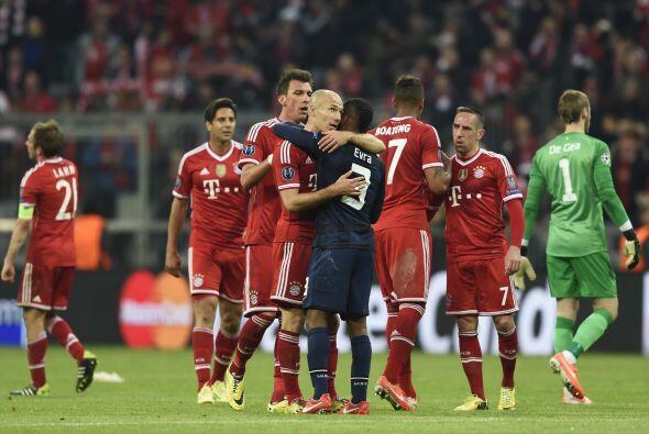 Bayern fue mejor que el United, que cayó con la frente en alto ante el c...