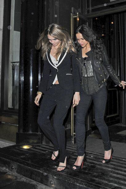 Michelle y Cara salieron de fiesta. Más videos de Chismes aqu&iac...