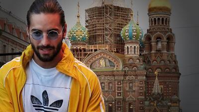 Maluma víctima de un robo de casi $800,000 dólares en Rusia