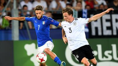 """Eslovaquia denuncia a la UEFA el """"apaño injusto"""" en el Italia-Alemania sub 21"""
