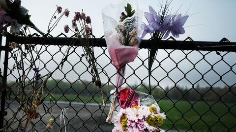 Un memorial recuerda a un grupo de jóvenes asesinados por la MS-1...