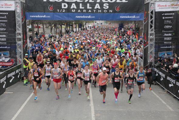 Medio Maratón en Dallas