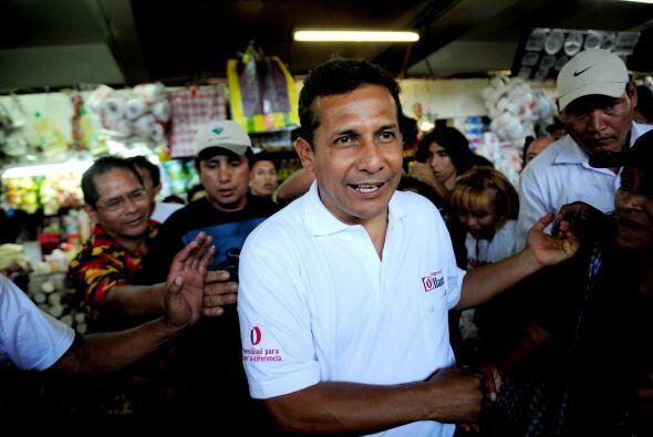 Humala ya se había postulado a la presidencia en 2006, sin embargo perdi...