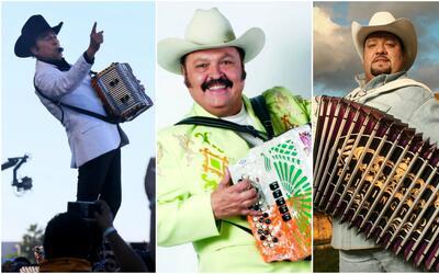 Los maestros del acordeón, toda una historia del regional mexicano.