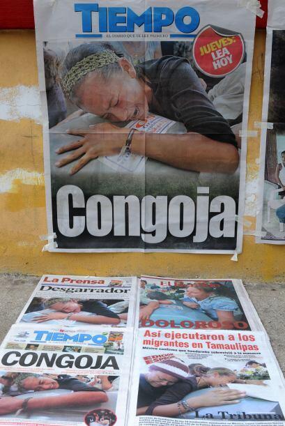 La noticia de la matanza no sólo dejó conmocionado a México sino al mundo.