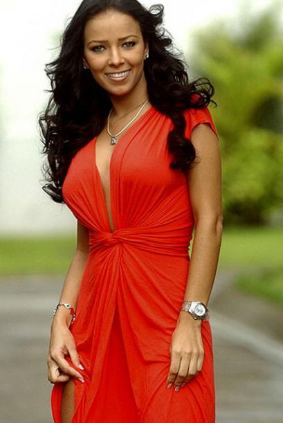 Andrea Salas, esposa de Keylor Navas, ha robado gran cantidad de miradas...