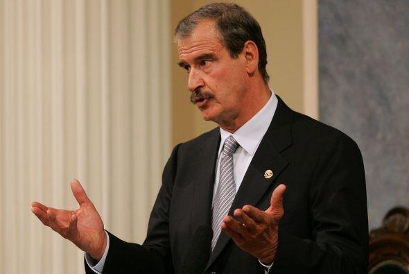 El expresidente de México Vicente Fox aseguró que se debe optar por la n...