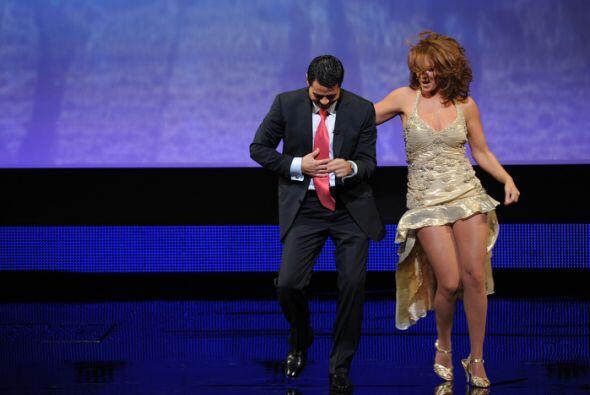 Pero la sorpresa fue mayúscula. ¡Qué bien bailaron!