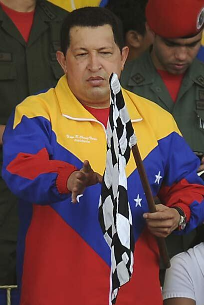 El presidente Chávez nombró campeón de manera antic...