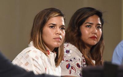 La actriz America Ferrera se unió a las mujeres que han denunciad...