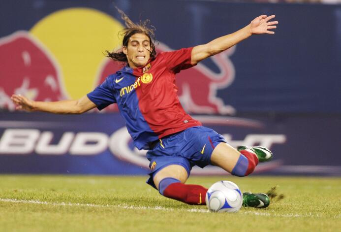 7. Martín Cáceres (2008-2009)
