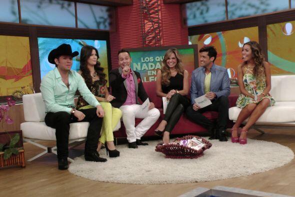 María, Martín, Javier y Frida Sofía llegaron para hablar de los mejores...