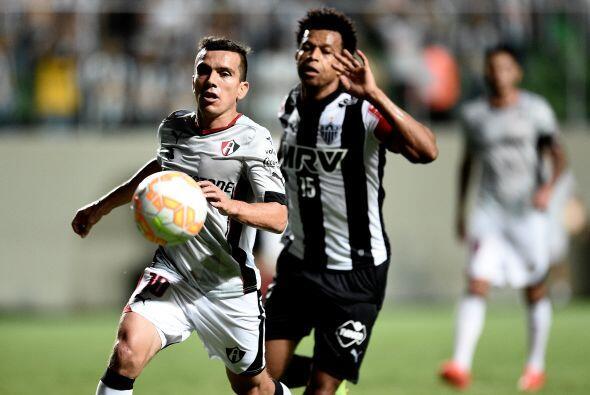 Atlético Minerio mostraba nerviosismo en la parte baja tras los embates...