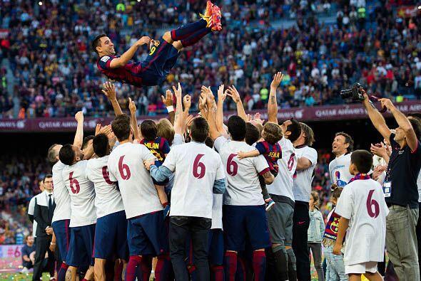 Después, el delegado del Barcelona tuvo que poner orden en el centro del...