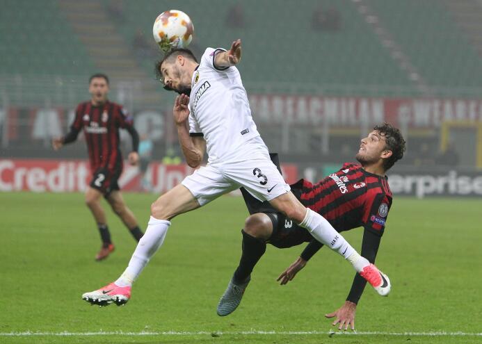 A.C. Milan 0-0 AEK Atenas: pálida presentación del equipo 'rossonero...
