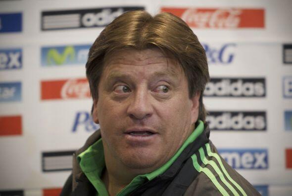 El entrenador de la selección nacional ha sido claro de que busca armar...