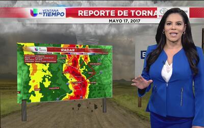 Servicio Nacional de Meteorología confirma que hubo un tornado en el Con...