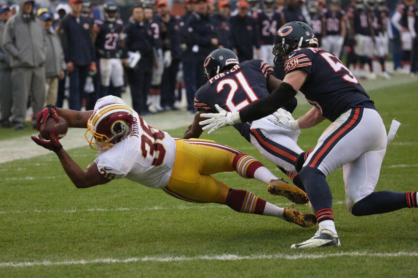 Los Redskins se sacudieron una racha de nueve partidos perdidos consecut...
