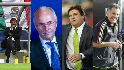 El recorrido de los entrenadores del 'Tri' en los últimos 10 años