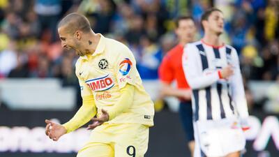 América goleó a Monterrey en el debut de Matosas