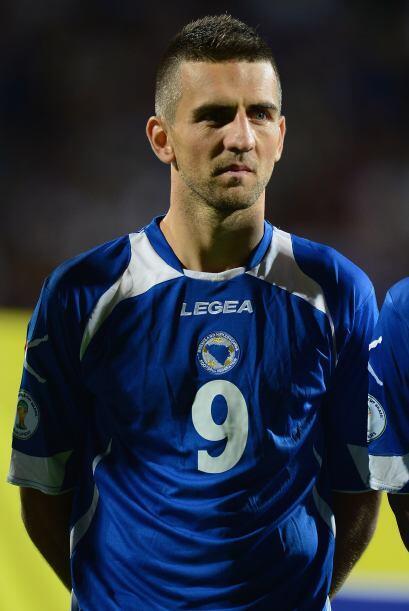 Vedad Ibisevic también ha sido reconocido como el mejor jugador de su pa...