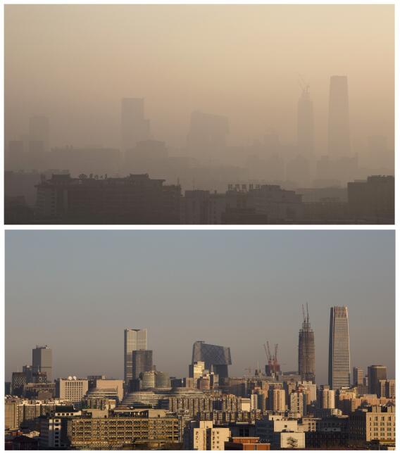Contaminación en Pekín: nueva alerta roja pekin3.jpg