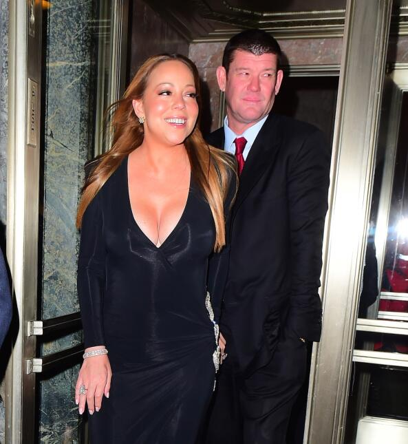 Mariah Carey y James