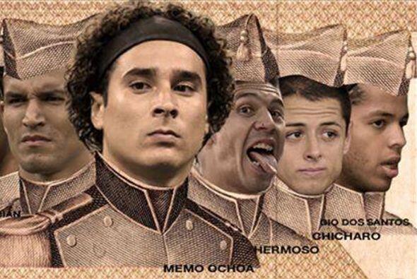 Los aficionados de México y Croacia no perdonaron a su rival en r...