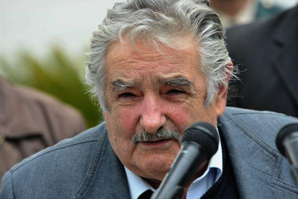 Estuvieron presentes, entre otros: José Mujica, el presidente de...