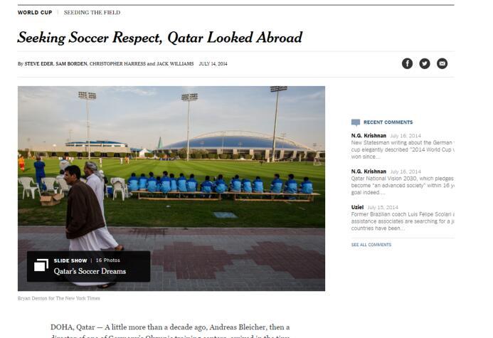 Catar está 'fichando' niños africanos para su Mundial 2022 catar.jpg
