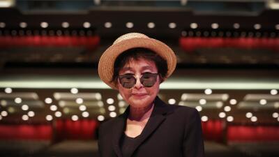 Yoko Ono, artista japonesa y viuda de John Lennon.