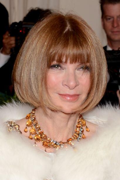 ANNA WINTOUR- La editora de Voge, Anna Wintour, es una de las celebridad...