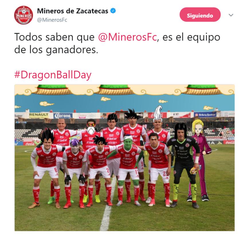 Los Mineros de Zacatecas del Ascenso MX fueron los más creativos en rede...