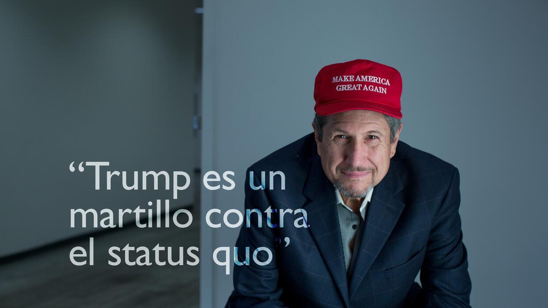 Jorge Garcés es un retirado que trabajó en Wall Street como broker.